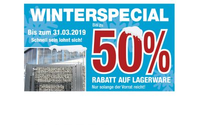 Zaunpartner Winterspecial
