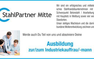 Ausbildung zur/zum Industriekauffrau/-mann ab 01.08.2019