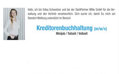 Kreditorenbuchhaltung (m/w/x) Minijob / Teilzeit / Vollzeit