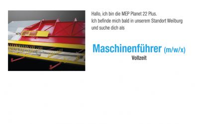 Maschinenführer (m/w/x) Vollzeit