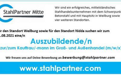 Ausbildung Kauffrau/-mann im Groß- und Außenhandel Nidda (m/w/x)