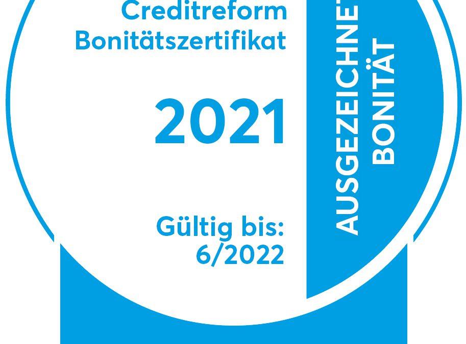 Creditreform: StahlPartner erhält erneut CrefoZert